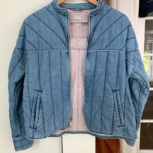 Quilted Jacket in Tencel